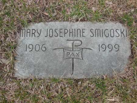 SMIGOSKI, MARY JOSEPHINE - Lake County, Illinois | MARY JOSEPHINE SMIGOSKI - Illinois Gravestone Photos