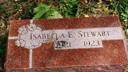 STEWART, ISABELLA E. - Lake County, Illinois | ISABELLA E. STEWART - Illinois Gravestone Photos