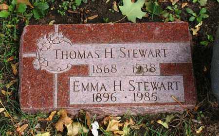 STEWART, EMMA H. - Lake County, Illinois | EMMA H. STEWART - Illinois Gravestone Photos