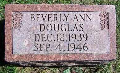 DOUGLAS, BEVERLY ANN - Lawrence County, Illinois | BEVERLY ANN DOUGLAS - Illinois Gravestone Photos