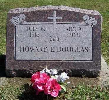DOUGLAS, HOWARD E. - Lawrence County, Illinois | HOWARD E. DOUGLAS - Illinois Gravestone Photos