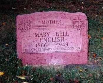 MARTIN ENGLISH, MARY BELLE - Lawrence County, Illinois | MARY BELLE MARTIN ENGLISH - Illinois Gravestone Photos