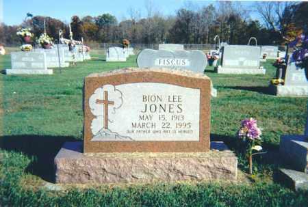 JONES, BION LEE - Lawrence County, Illinois | BION LEE JONES - Illinois Gravestone Photos