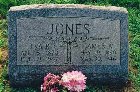 JONES, JAMES W. - Lawrence County, Illinois | JAMES W. JONES - Illinois Gravestone Photos