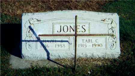 JONES, HAZEL J. - Lawrence County, Illinois | HAZEL J. JONES - Illinois Gravestone Photos