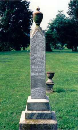 JONES, JOSHUA - Lawrence County, Illinois | JOSHUA JONES - Illinois Gravestone Photos