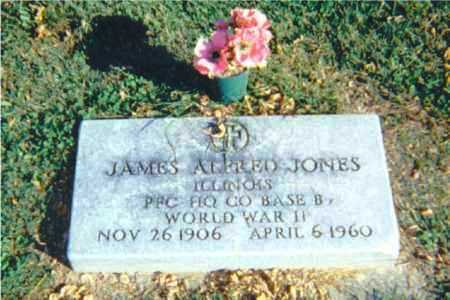 JONES, JAMES ALFRED - Lawrence County, Illinois | JAMES ALFRED JONES - Illinois Gravestone Photos