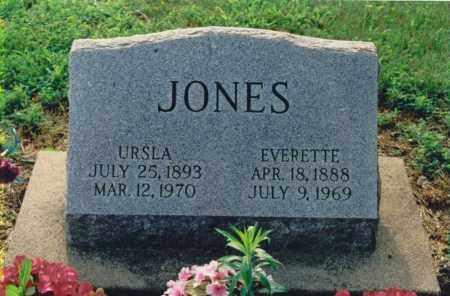 JONES, URSLA - Lawrence County, Illinois | URSLA JONES - Illinois Gravestone Photos