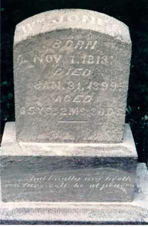 JONES, WILLIAM - Lawrence County, Illinois | WILLIAM JONES - Illinois Gravestone Photos
