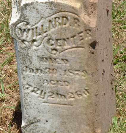 CENTER, WILLARD - Logan County, Illinois   WILLARD CENTER - Illinois Gravestone Photos