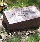 HICKEY, JAMES V. - Logan County, Illinois   JAMES V. HICKEY - Illinois Gravestone Photos