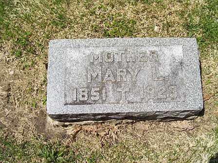 HICKEY, MARY L. - Logan County, Illinois | MARY L. HICKEY - Illinois Gravestone Photos