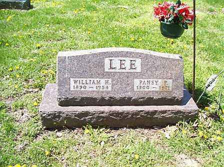 LEE, PANSY P. - Logan County, Illinois | PANSY P. LEE - Illinois Gravestone Photos