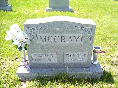 MCCRAY, SAMUEL R. - Logan County, Illinois | SAMUEL R. MCCRAY - Illinois Gravestone Photos
