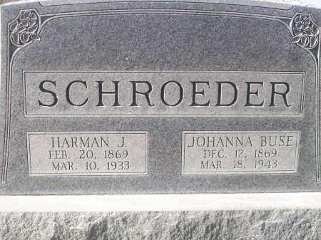 SCHROEDER, JOHANNA - Logan County, Illinois | JOHANNA SCHROEDER - Illinois Gravestone Photos