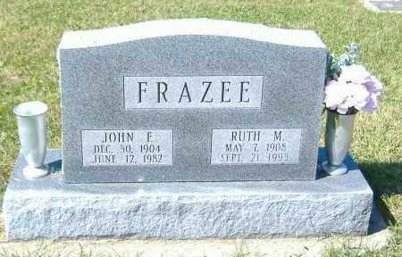 FRAZEE, RUTH M. - Macon County, Illinois | RUTH M. FRAZEE - Illinois Gravestone Photos