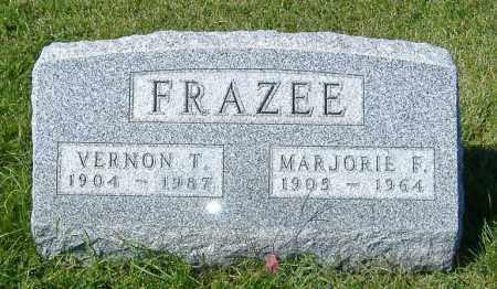 FRAZEE, MARJORIE F. - Macon County, Illinois | MARJORIE F. FRAZEE - Illinois Gravestone Photos