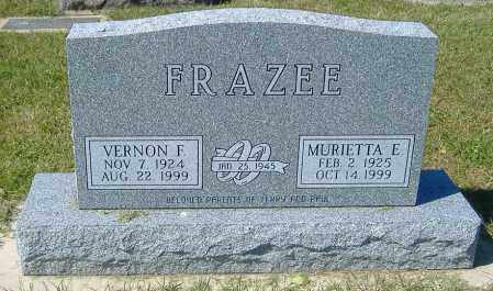 FRAZEE, VERNON FRANKLIN - Macon County, Illinois | VERNON FRANKLIN FRAZEE - Illinois Gravestone Photos