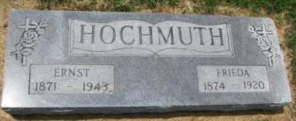 HOCHMUTH, ERNST - Macoupin County, Illinois | ERNST HOCHMUTH - Illinois Gravestone Photos