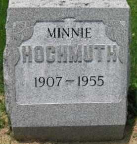 HOCHMUTH, MINNIE - Macoupin County, Illinois | MINNIE HOCHMUTH - Illinois Gravestone Photos