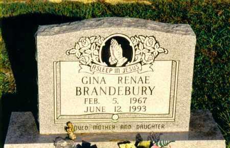 BRANDEBURY, GINA RENAE - Marion County, Illinois | GINA RENAE BRANDEBURY - Illinois Gravestone Photos