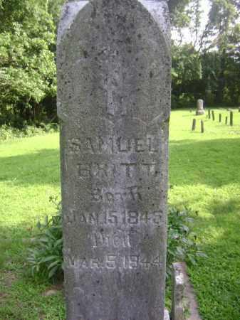 BRITT, SAMUEL - Marion County, Illinois | SAMUEL BRITT - Illinois Gravestone Photos