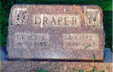 DRAPER, GRACE E. - Marion County, Illinois | GRACE E. DRAPER - Illinois Gravestone Photos