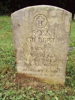 GILBERT, BOSS - Marion County, Illinois | BOSS GILBERT - Illinois Gravestone Photos