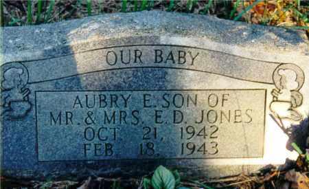 JONES, AUBRY E. - Marion County, Illinois   AUBRY E. JONES - Illinois Gravestone Photos