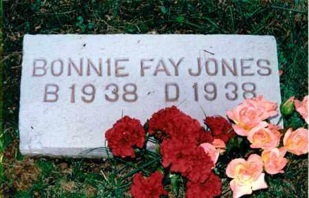 JONES, BONNIE FAY - Marion County, Illinois   BONNIE FAY JONES - Illinois Gravestone Photos