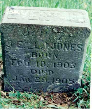 JONES, EVERETT E. - Marion County, Illinois | EVERETT E. JONES - Illinois Gravestone Photos