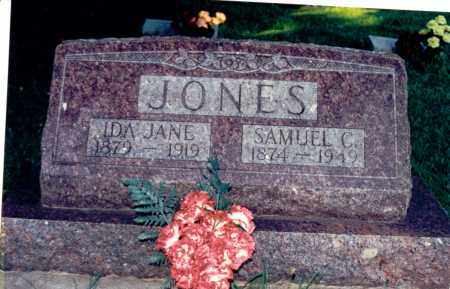 JONES, IDA JANE - Marion County, Illinois | IDA JANE JONES - Illinois Gravestone Photos