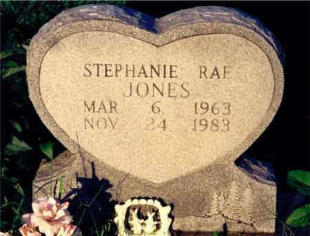 JONES, STEPHANIE RAE - Marion County, Illinois | STEPHANIE RAE JONES - Illinois Gravestone Photos
