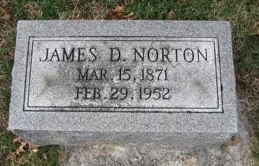 NORTON, JAMES DOUGLAS - Marion County, Illinois   JAMES DOUGLAS NORTON - Illinois Gravestone Photos