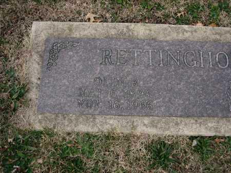 RETTINGHOUSE, OLIN B - Marion County, Illinois | OLIN B RETTINGHOUSE - Illinois Gravestone Photos