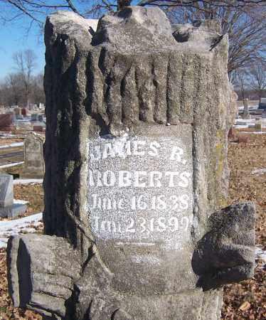 ROBERTS, JAMES R - Marion County, Illinois | JAMES R ROBERTS - Illinois Gravestone Photos