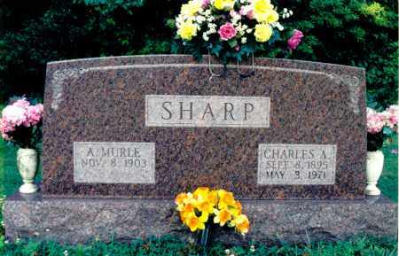 SHARP, CHARLES A. - Marion County, Illinois   CHARLES A. SHARP - Illinois Gravestone Photos