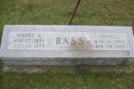KAMP BASS, EDNA C. - Marshall County, Illinois | EDNA C. KAMP BASS - Illinois Gravestone Photos