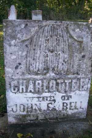BELL, CHARLOTTE ELIZABETH - Marshall County, Illinois   CHARLOTTE ELIZABETH BELL - Illinois Gravestone Photos