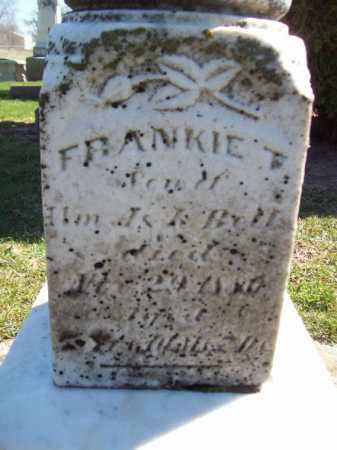 BELL, FRANKIE T - Marshall County, Illinois | FRANKIE T BELL - Illinois Gravestone Photos