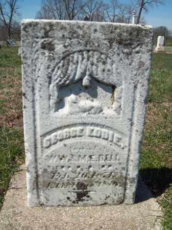 BELL, GEORGE EDDIE - Marshall County, Illinois | GEORGE EDDIE BELL - Illinois Gravestone Photos
