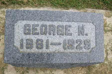 BELL, GEORGE NORVEL - Marshall County, Illinois | GEORGE NORVEL BELL - Illinois Gravestone Photos
