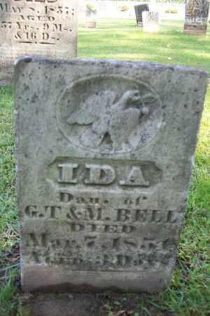 BELL, IDA - Marshall County, Illinois | IDA BELL - Illinois Gravestone Photos