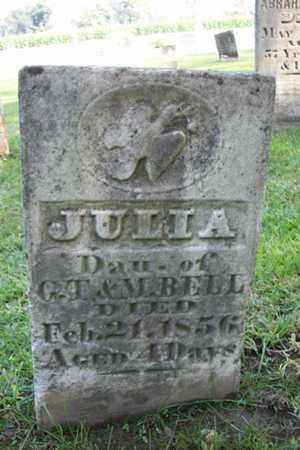 BELL, JULIA - Marshall County, Illinois | JULIA BELL - Illinois Gravestone Photos
