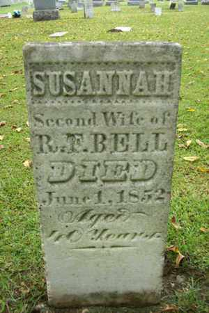 BELL, SUSANNAH - Marshall County, Illinois | SUSANNAH BELL - Illinois Gravestone Photos