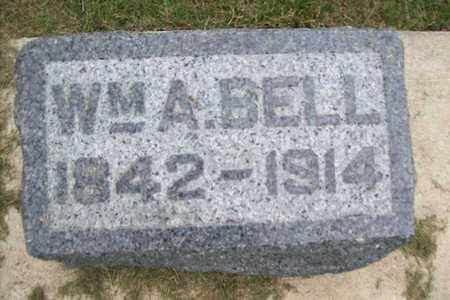 BELL, WILLIAM A. - Marshall County, Illinois | WILLIAM A. BELL - Illinois Gravestone Photos