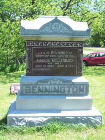 BENNINGTON, JAMES N. - Marshall County, Illinois | JAMES N. BENNINGTON - Illinois Gravestone Photos