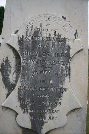 BENNINGTON, MARGARET E. - Marshall County, Illinois | MARGARET E. BENNINGTON - Illinois Gravestone Photos