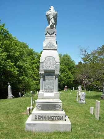BENNINGTON, ROBERT, OLIVE & MARY MONUMENT - Marshall County, Illinois | ROBERT, OLIVE & MARY MONUMENT BENNINGTON - Illinois Gravestone Photos