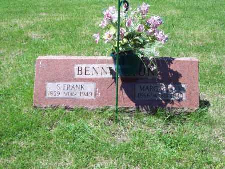 BENNINGTON, S. FRANK - Marshall County, Illinois   S. FRANK BENNINGTON - Illinois Gravestone Photos